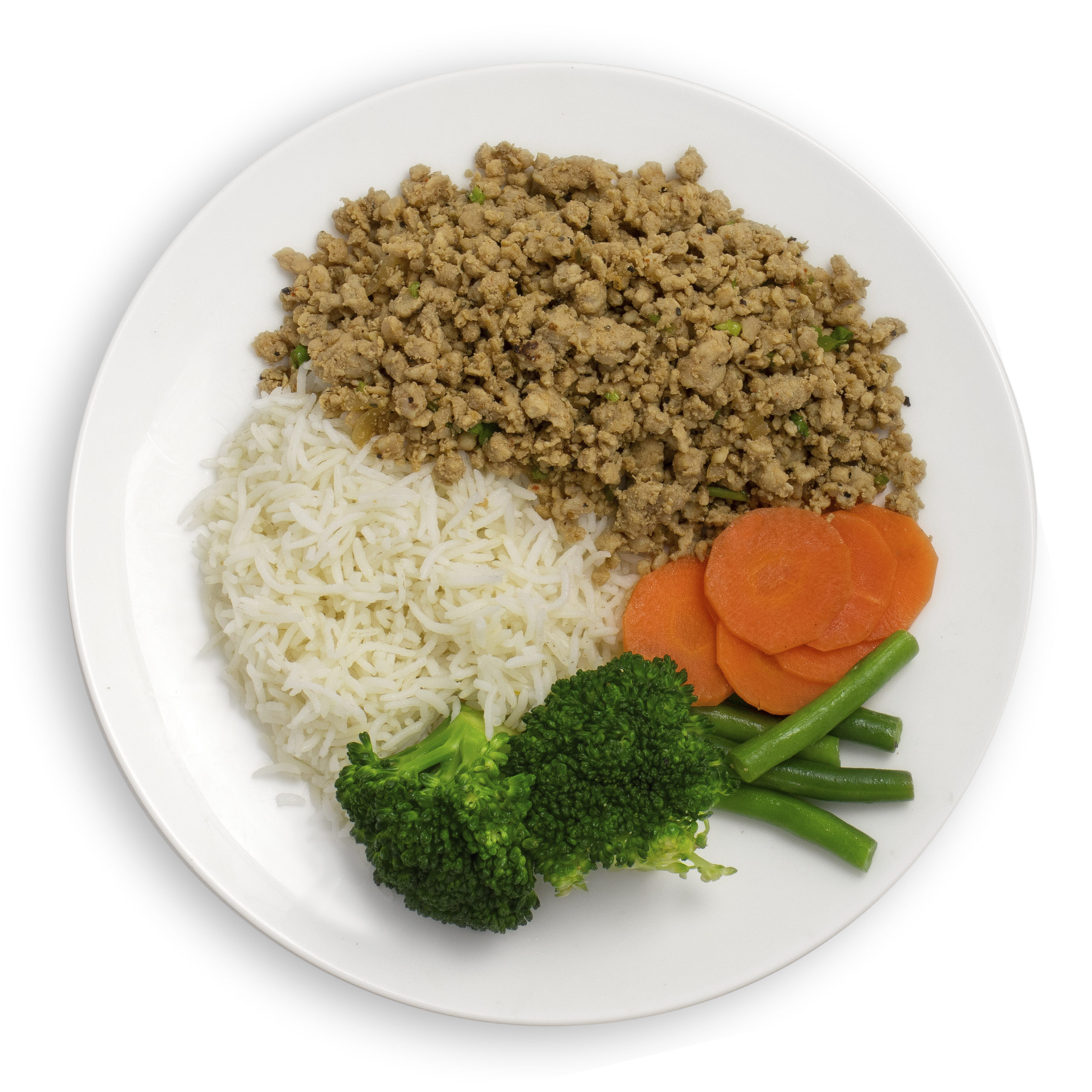 Turkey Mince with Basmati Rice and Mixed Vegetables ...