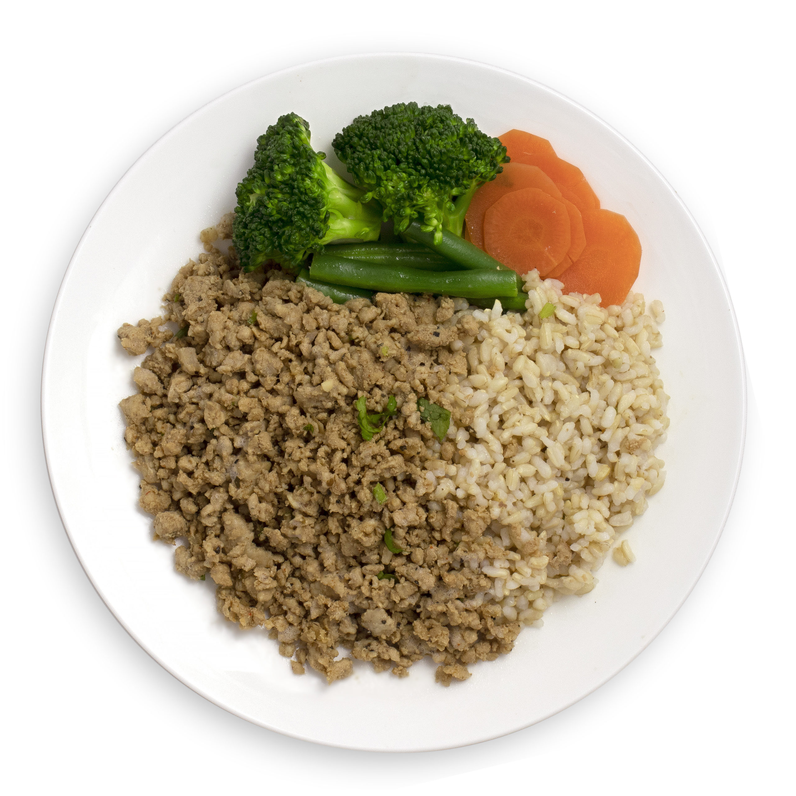 Turkey Mince with Brown Rice and Mixed Vegetables - Muscle ...
